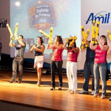 Fotografia evento Amil em Campinas SP