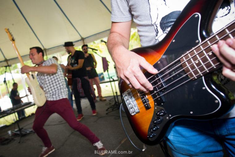 close de guitarra